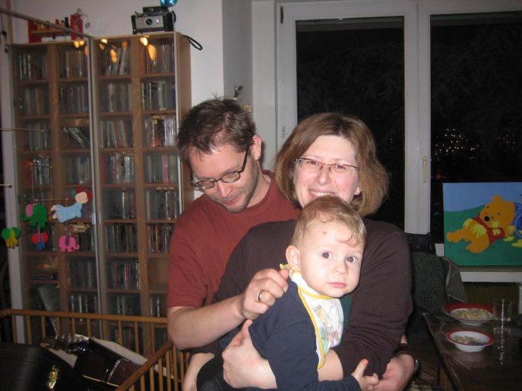 Sandra, Jörn und Jannick